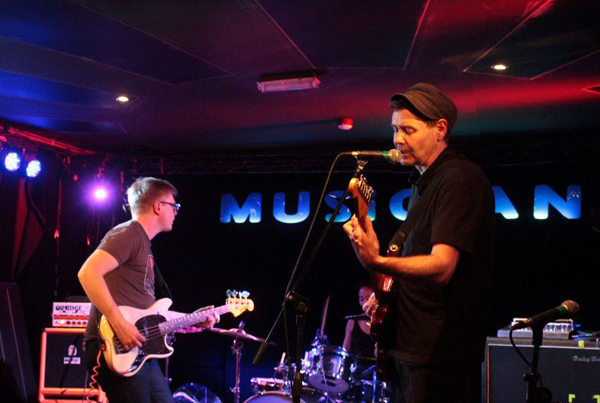 Former Utopia at The Musician - 6th May 2016. Photo: HSD