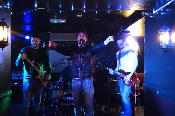 Jimmy Amnesia at Duffy's - 13th May 2016. Photo: Trevor Cobbe