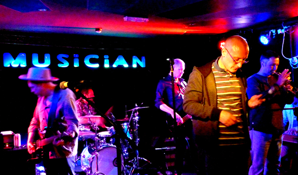 Echolocation at The Musician - 27th May 2016. Photo: Keith Jobey