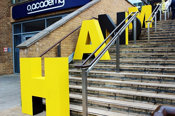 Entrance to the O2 Academy Leicester. at Handmade 2016. Photo: Kevin Gaughan.