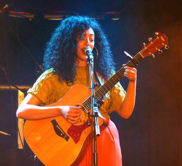 Mahalia at the Spiegeltent, Brighton. The Great Escape Festival 2016. Photo: Keith Jobey