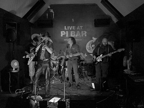 The Dogz of Rock at Pi Bar, 4th June