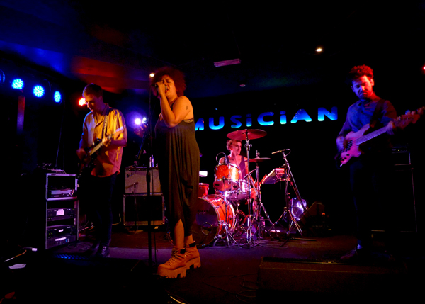 Weaves at The Musician - 12th July 2016. Photo: Keith Jobey