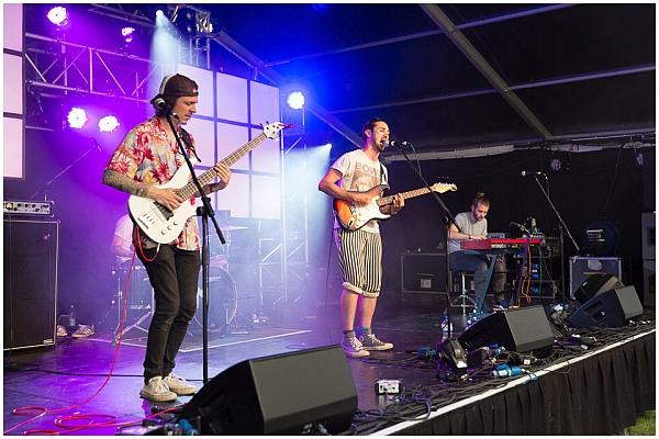 The Strangler Figs at Simon Says festival 2016. Photo: Pascal Pereira.