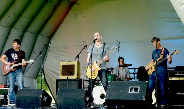 The Lost Future at Western Park Festival 2016. Photo Keith Jobey.