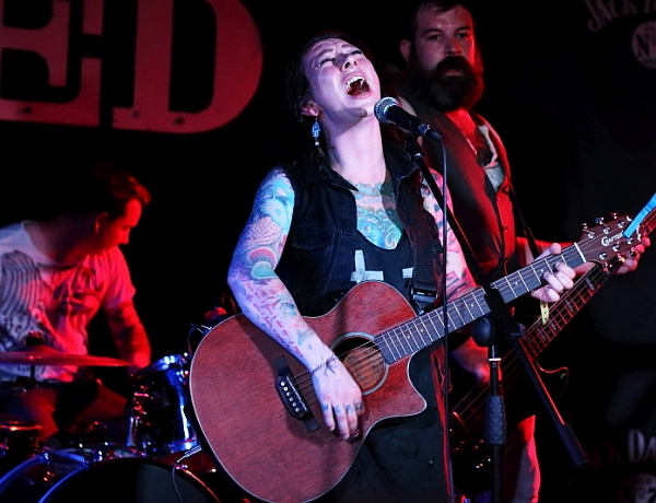 The Brandy Thieves at The Shed. Photo:  Kevin Gaughan.