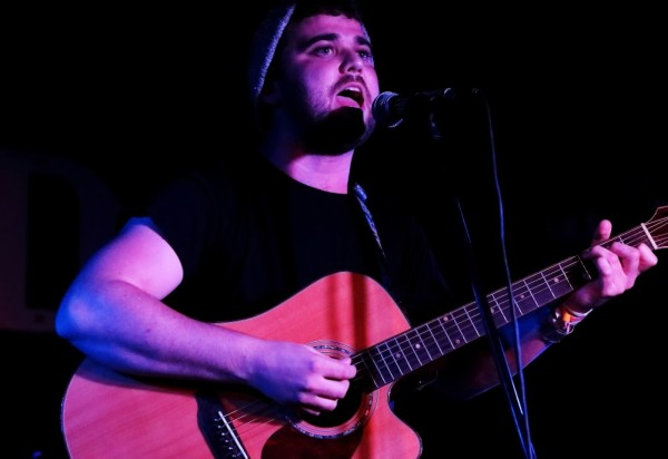 Michael Vickers at The Shed, 26th September 2016. Photo: Kevin Gaughan.
