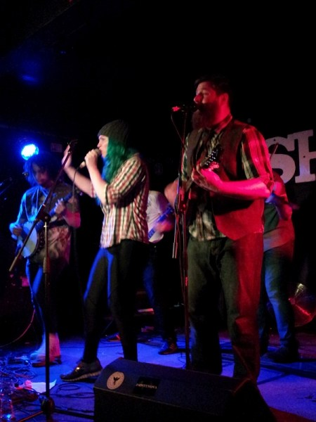 Whiskey Rebellion at The Shed, 2nd September 2016.