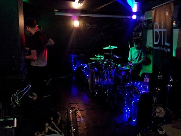 Beneath The Lights at Duffys bar, October 2016