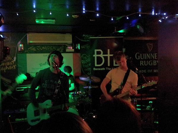 Flip Like Wilson at Duffys Bar, 7th October 2016.