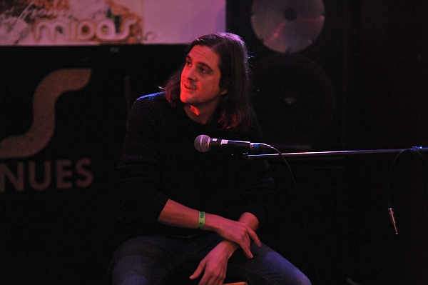 Jake Manning at at Oxjam Leicester 2016. Photo Trevor Sewell.