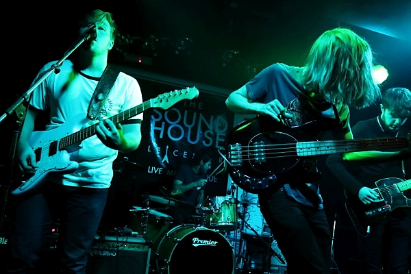 Beneath The Lights at The Soundhouse. Oxjam Leicester 2016. Photo: Kevin Gaughan.