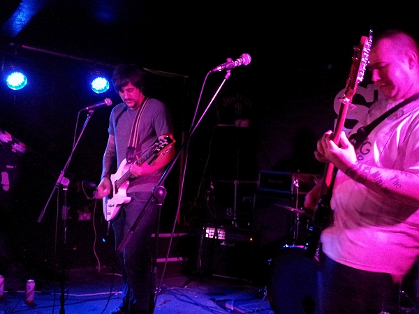 The Mini Nukes at The Shed on 30th September 2016.