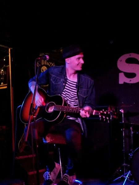 Luke Wassell from Of Kings and Captains at The Shed on 30th September 2016.