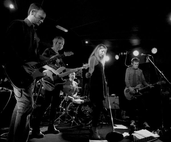 Jesuscarfish at the Musician, 3rd November 2016. Photo: Keith Jobey