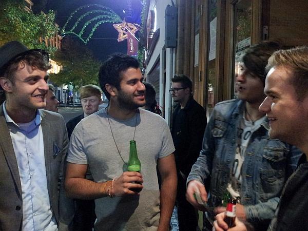 Nik Green, Arj Johil, Alex Van Roose, Midnight Wire, November 2016.