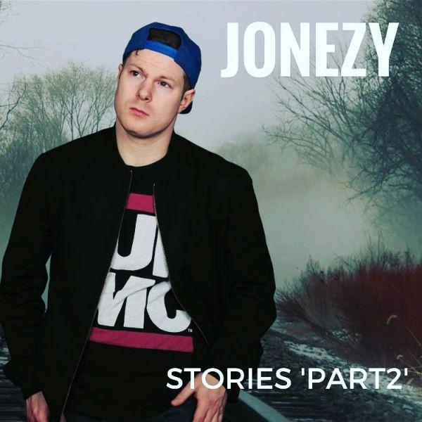 'Stories Part 2' album cover by Jonezy November 2016