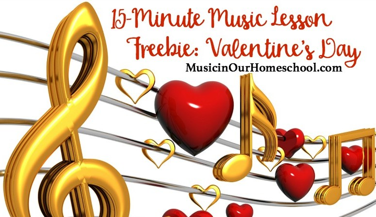 Free 15-Minute Music Lesson for Valentine's Day featuring Disney Love Songs