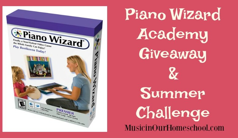 Piano Wizard Giveaway and Summer Challenge