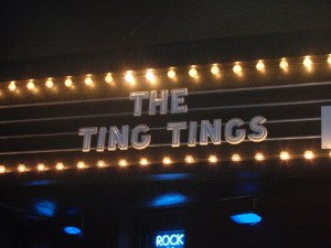 Ting Tings at the Paradise