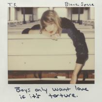 Taylor Swift - Blank Space Artwork