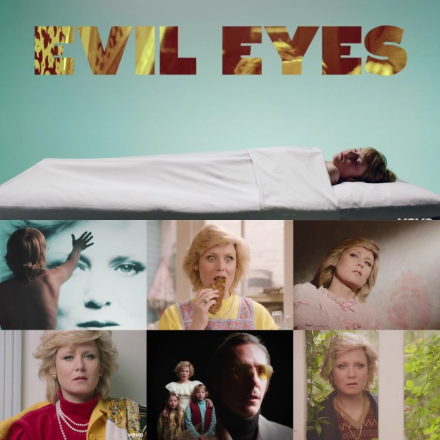 """Róisín Murphy's latest Hairless Toys single is """"Evil Eyes,"""" due out July 31st. Check out the self-directed video for """"Evil Eyes"""" on my blog."""
