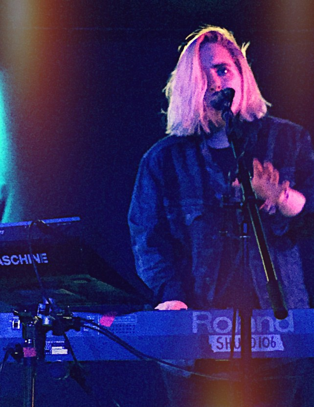 Shura performing live at Mercury Lounge in New York City, July 28th 2015