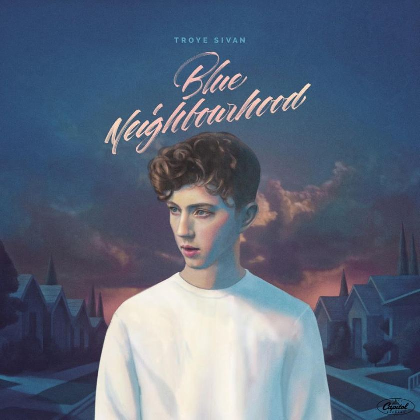 Troye Sivan - Blue Neighbourhood Album Artwork