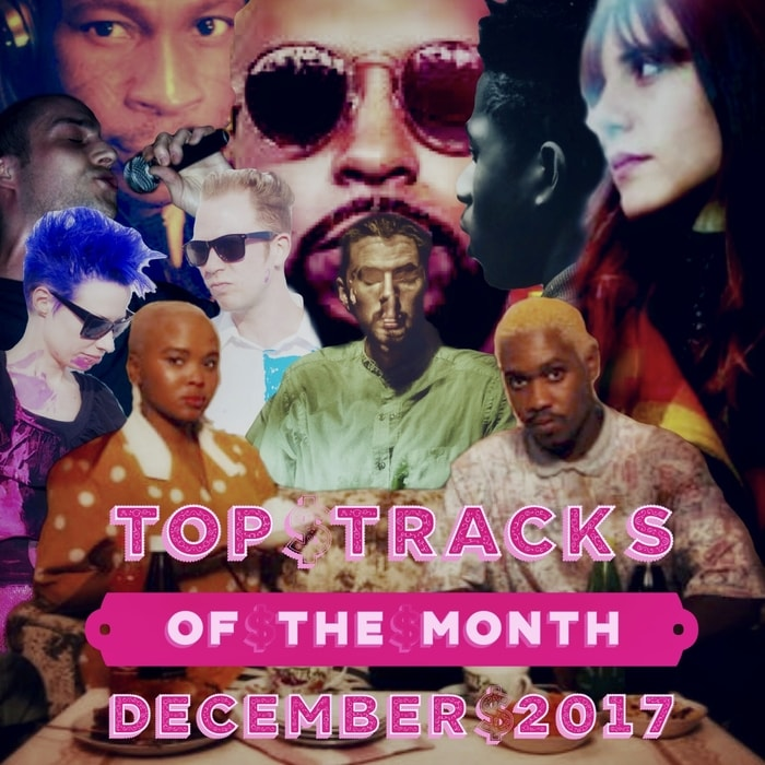 TOP TRACKS OF THE MONTH - December 2017