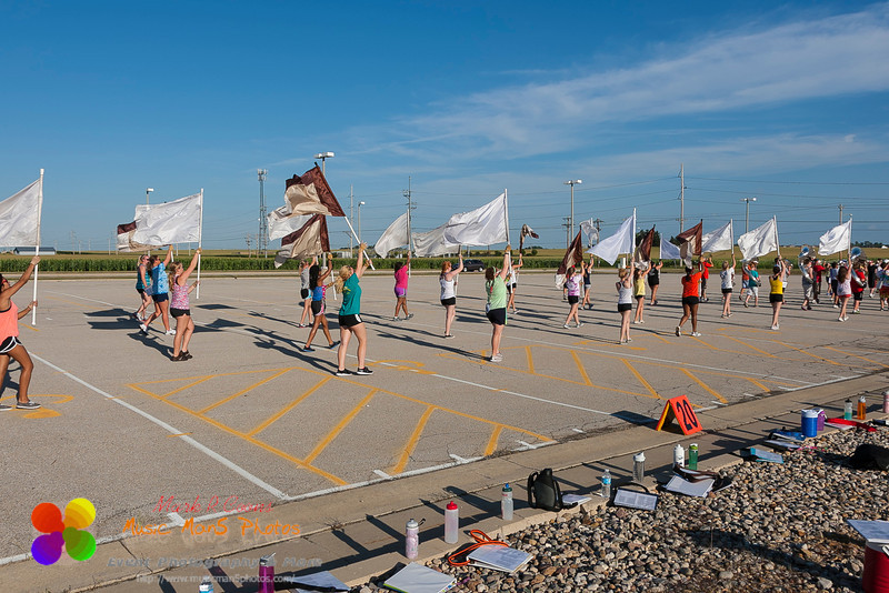 parade marching rehearsal
