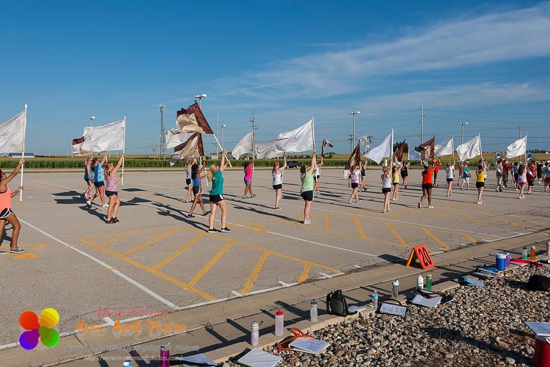 parade marching rehearsal