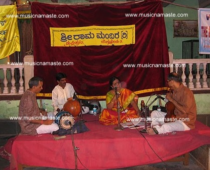 Smt.Sharada Vishwanath in Concert