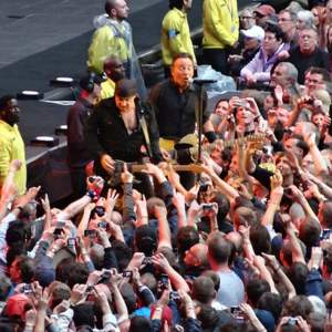 Bruce Springsteen, live at Wembley Stadium (Photo: Philip Matusavage)