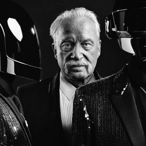 Giorgio Moroder (with Daft Punk) (Photo: Hedi Slimane)