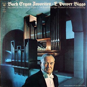 E Power Biggs - Bach Organ Favourites