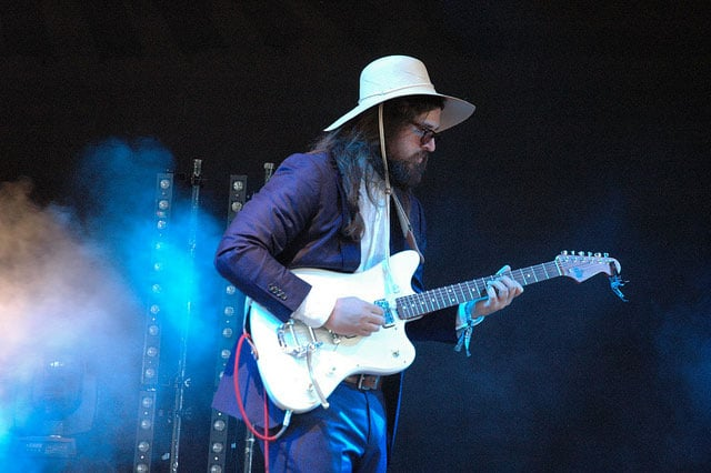 Matthew E White at Field Day