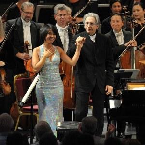 Yuja Wang & Michael Tilson Thomas(Photo: Chris Christodoulou)