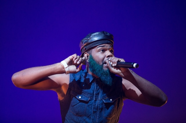Rome Fortune, live at Pitchfork Paris 2015