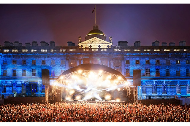 Somerset House is the picturesque setting for Summer Series