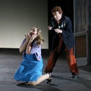 Laura Wilde & Peter Hoare(Photo: Donald Cooper)
