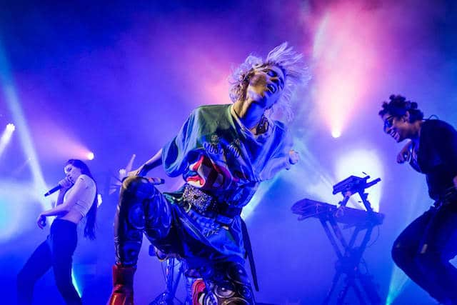 Grimes, live at Latitude 2016 (Photo: Victor Frankowski)