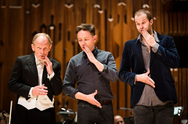Charles Daniels, Iestyn Davies & Ashley Riches