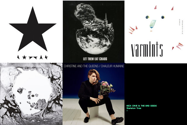 musicOMH's Top 50 Albums Of 2016