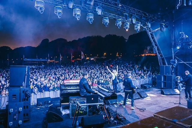 The Charlatans at Festival No.6 (photo: Andrew Whitton)
