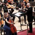 NHK Symphony Orchestra, Paavo Järvi  and Sol Gabetta (photo: Belinda Lawley)