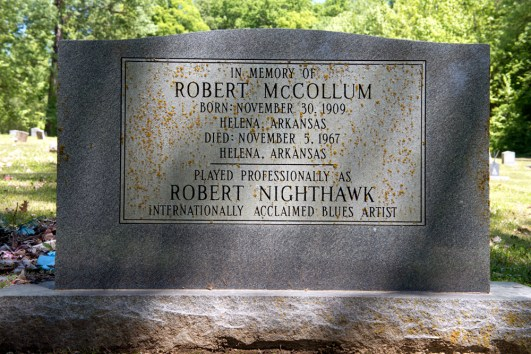 Robert McCollum Nighthawk Gravesite-Arkansas Tourism