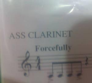 ass clarinet