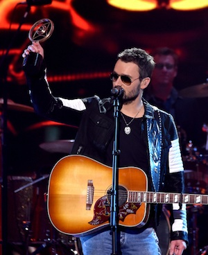Eric Church accepts Album of the Year honors for 'The Outsiders.'