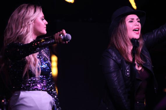 Kelsea Ballerini and Hillary Scott. Photo: Aisha Shehu Kaikai