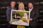Dolly Parton Receives No. 1 Plaque At Hollywood Bowl Show